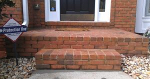 Brick Steps After